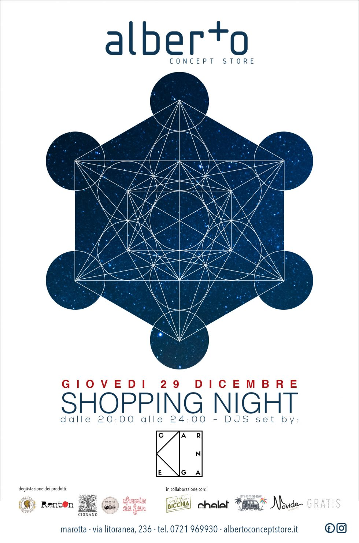 SHOPPING NIGHT – Giovedi 29 Dicembre